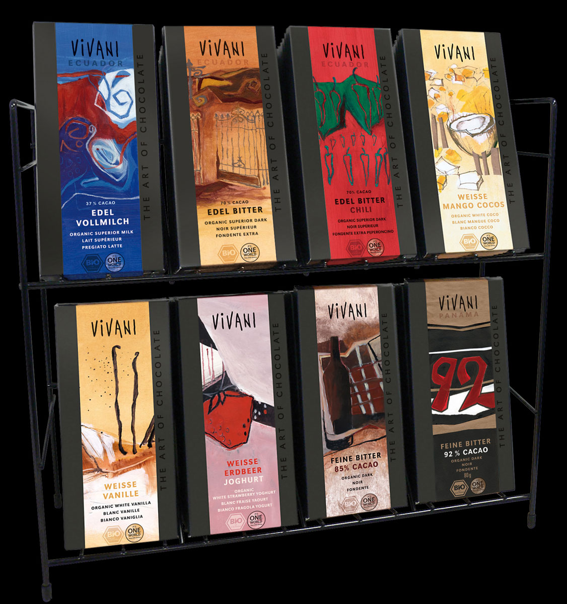 Counter display for 80 bars (large format)