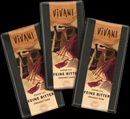 fine dark chocolate in mini versions 12,5 g